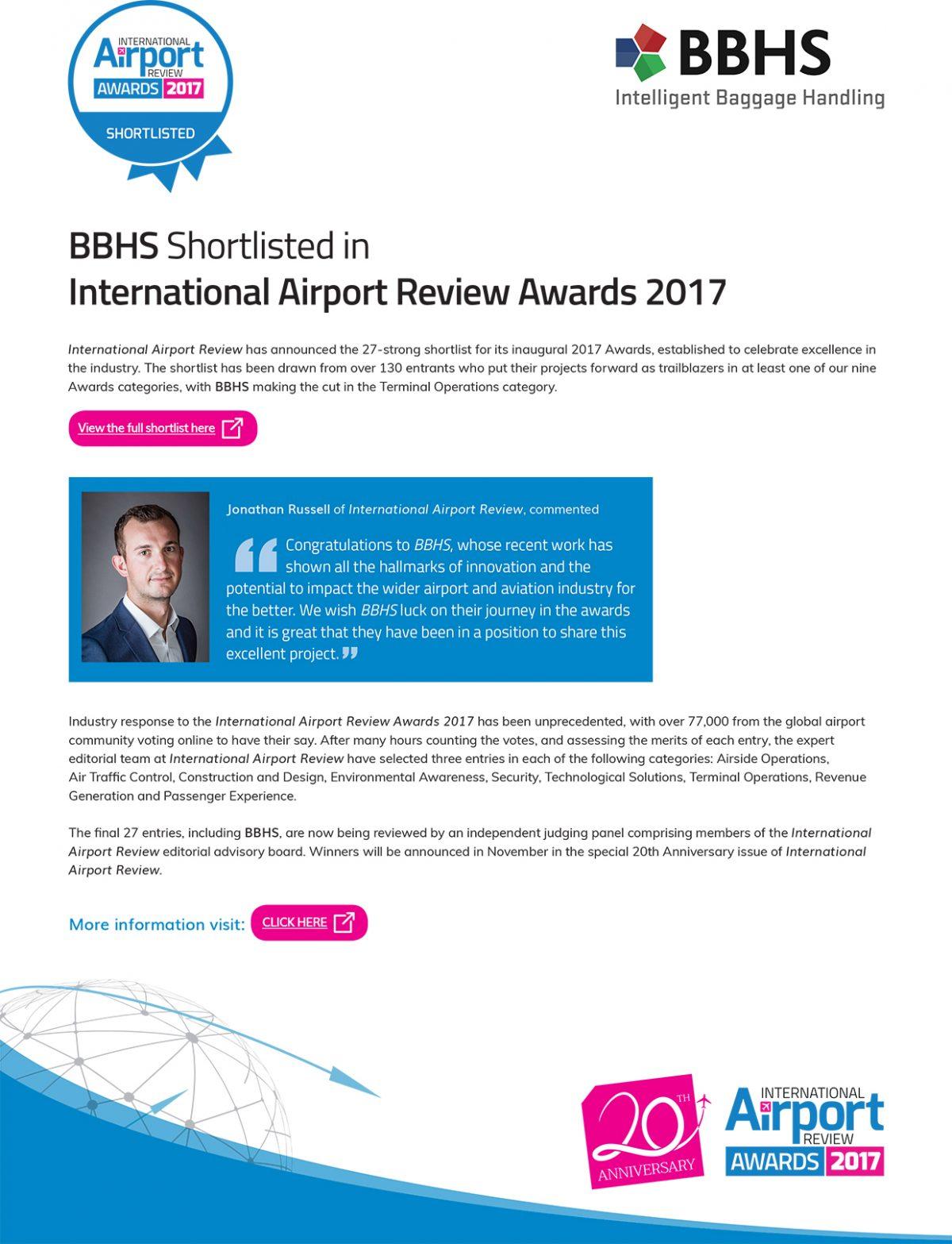 IARA17 Press Release - BBHS